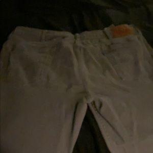Men's grey Levi's jeans